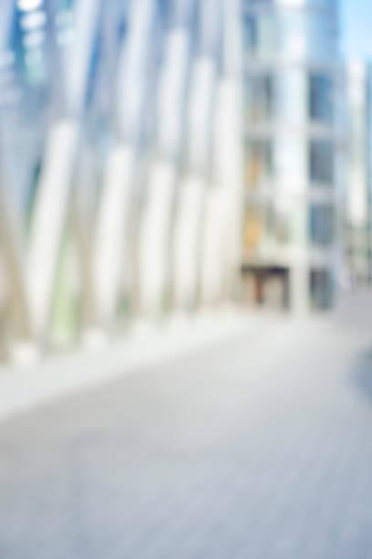 Absichtlich defokussierte städtische Shopping-Mall Hintergrund – Foto