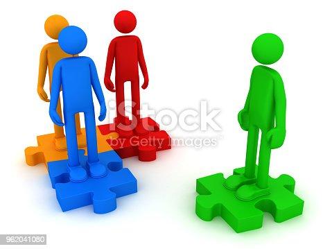 istock Interaction between different personalities 962041080