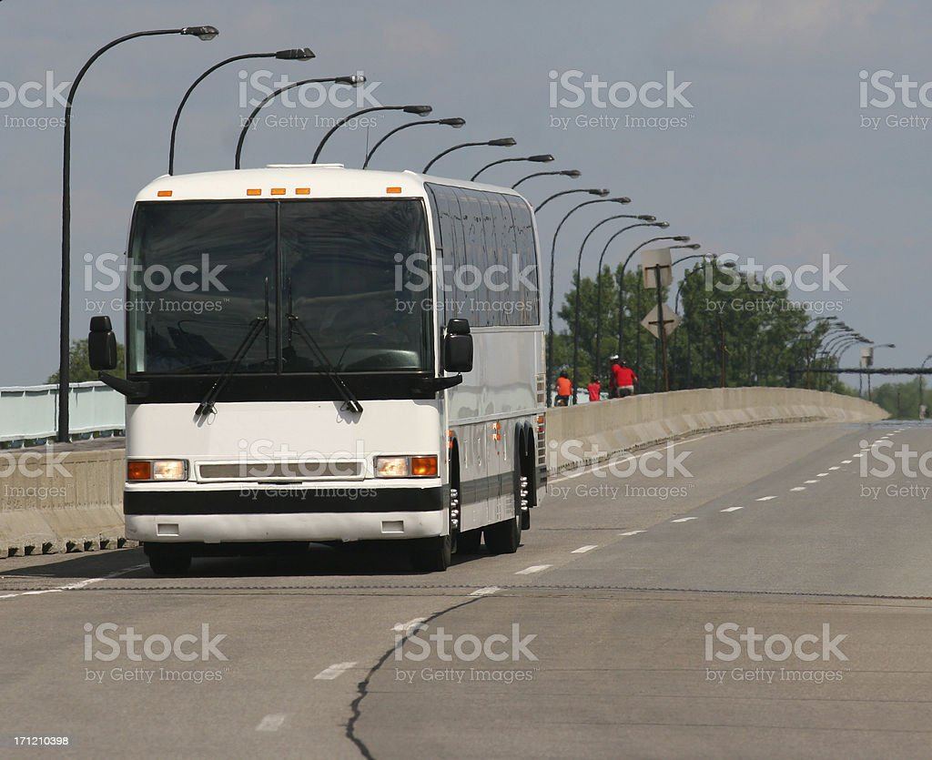 Inter-city Transporter stock photo
