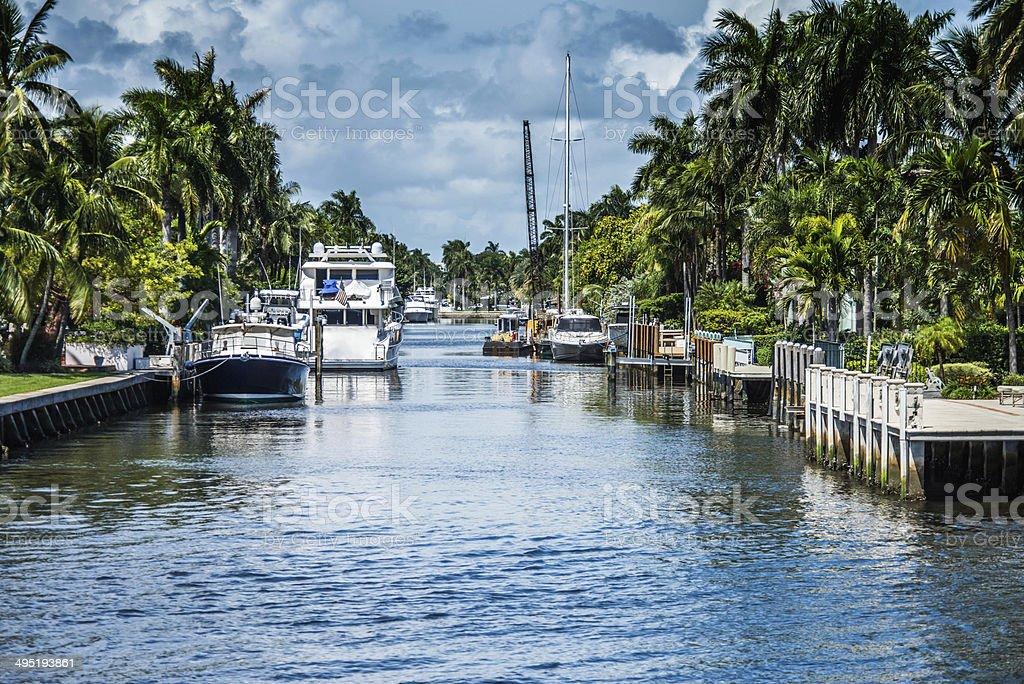 Intercoatal Waterway stock photo