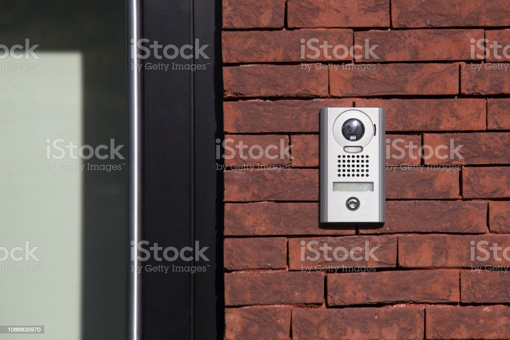 Intercom stock photo