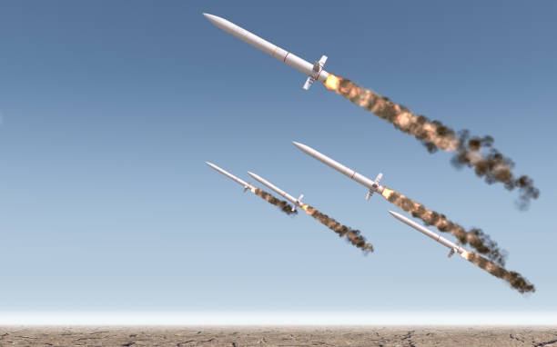 intercontinental ballistic missile - nuclear weapon stock photos and pictures