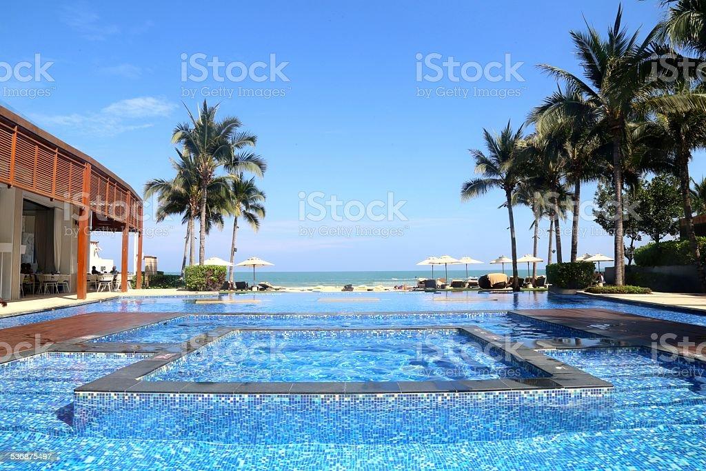 Intercontinental - Hua Hin stock photo