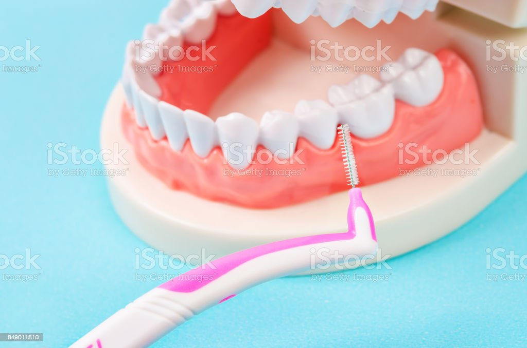 Interdental Brushes stock photo