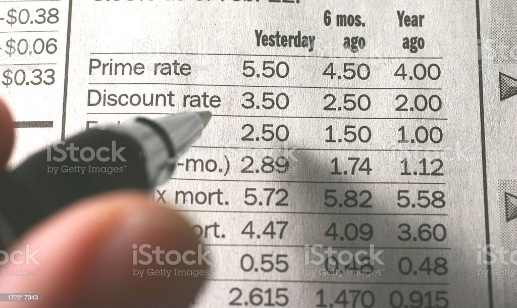 Interest stock photo
