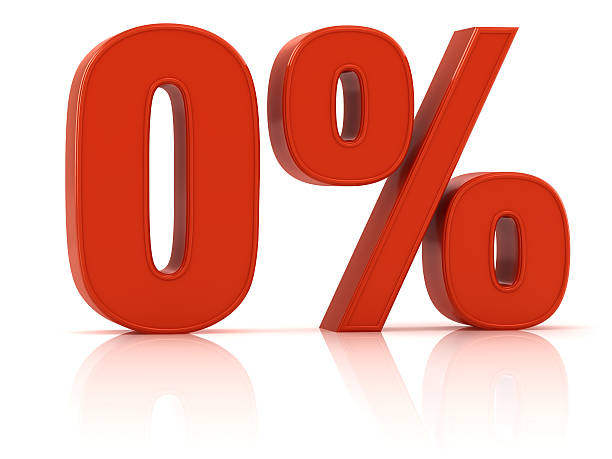 interest rate 0% - zero stock pictures, royalty-free photos & images