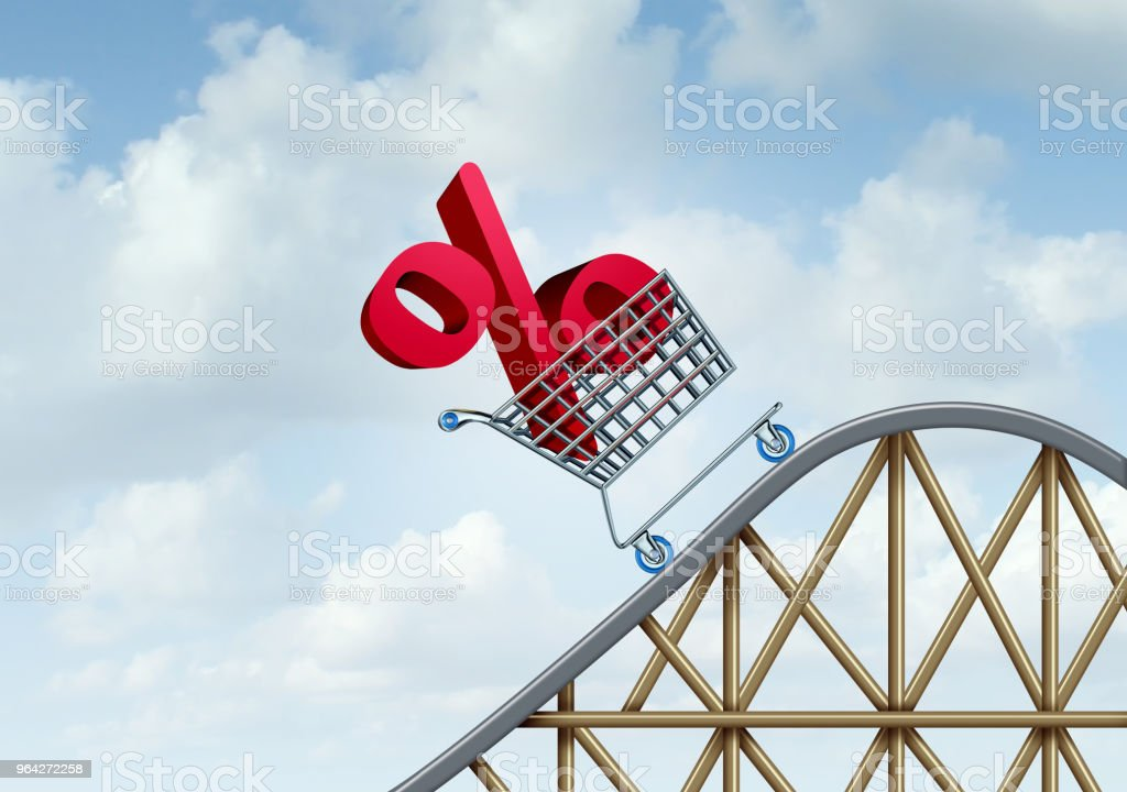 Interest Rate Rise stock photo