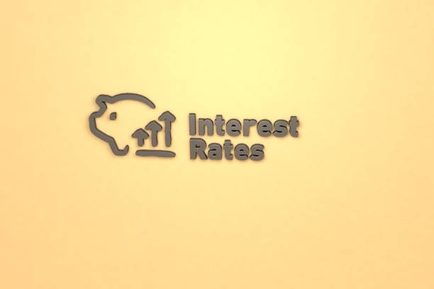 interest rates - rates stock photos and pictures