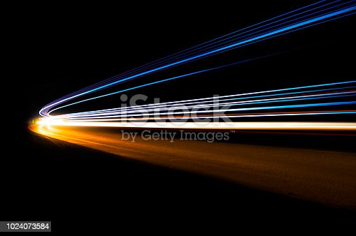 istock Interesting and abstract lights 1024073584