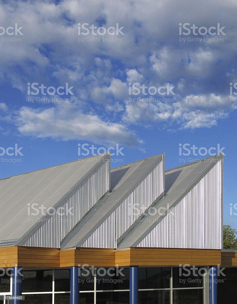 Interesting Architecture royalty-free stock photo