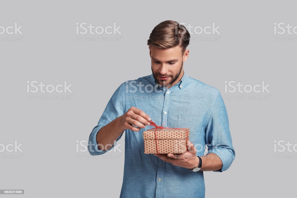 Interesting... stock photo