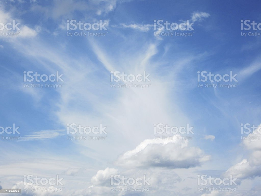 interesting sky royalty-free stock photo