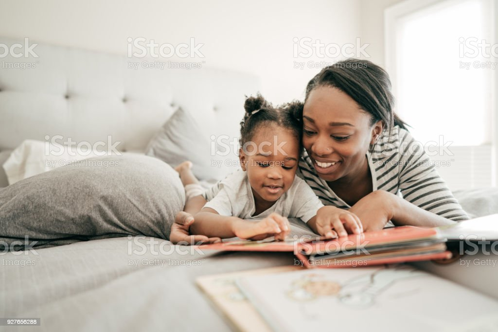 Interesting story stock photo
