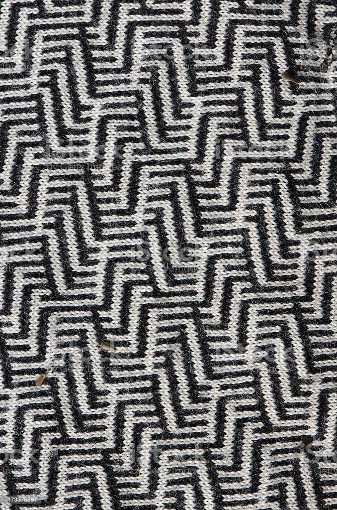 Interesting texture pattern of garment dress cloth royalty-free stock photo