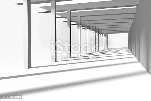 658604764 istock photo Interior 3d rendering 1211974589