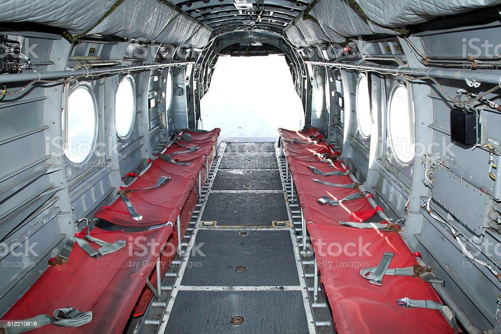 Intérieur Dun Hélicoptère Chinook – Photos et plus d\'images de ...