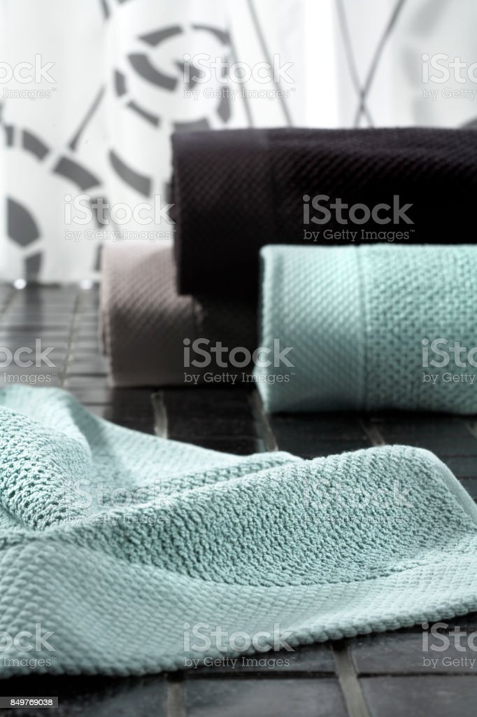 Interior and bath products stock photo