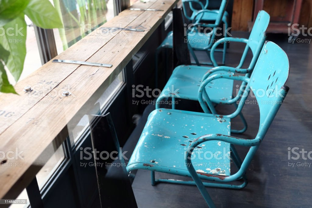 Interior And Decoration Bar Style Of A Coffee Shop Or Cafe Restaurant Design Of A Cafe Retro Style Stock Photo Download Image Now Istock