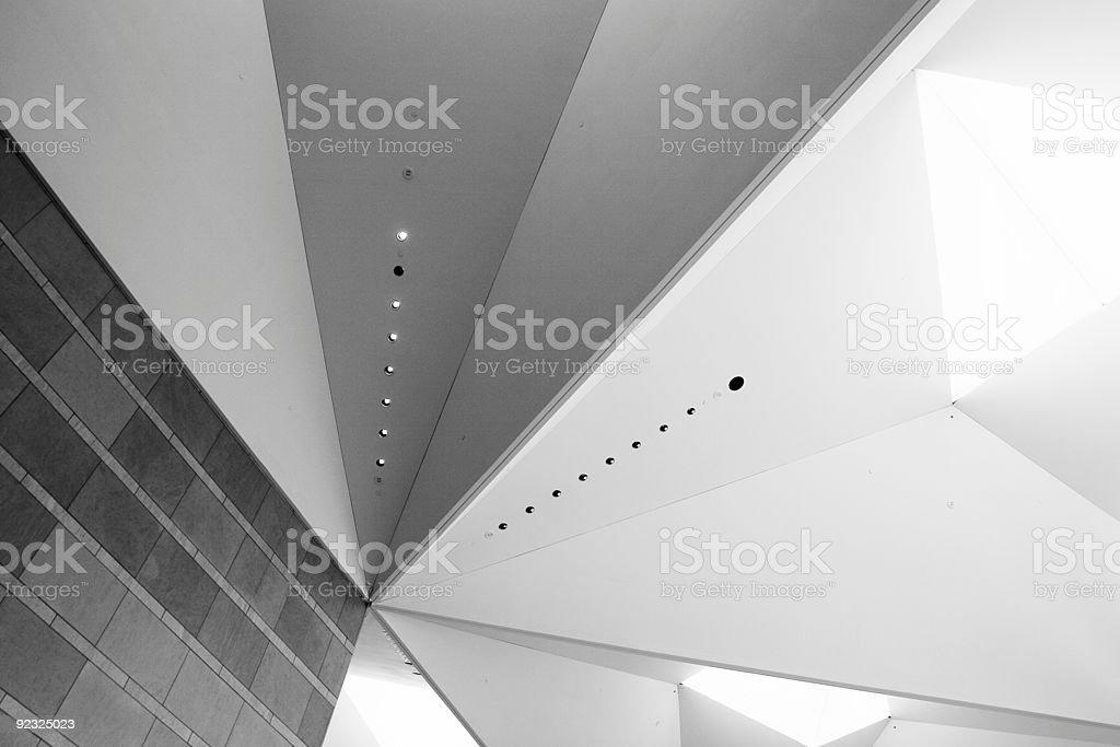 Interior Angles royalty-free stock photo