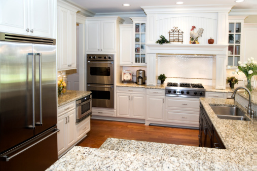 Interior architecture design Newly renovated custom kitchen modern