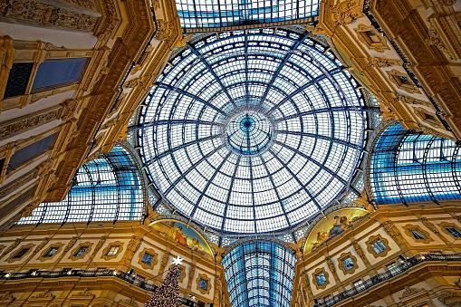 Interior at Vittorio Emanuele II Gallery