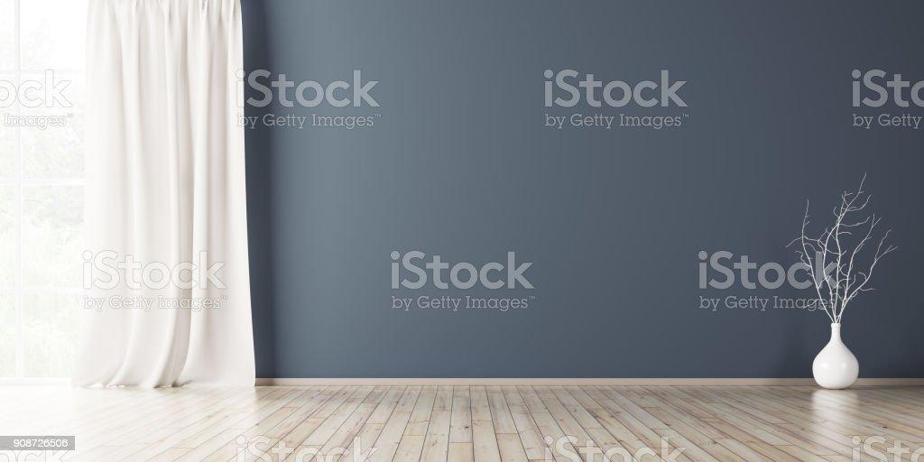 Interior background 3d render stock photo