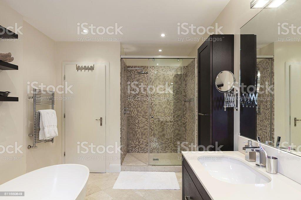 Innenansicht, Badezimmer – Foto