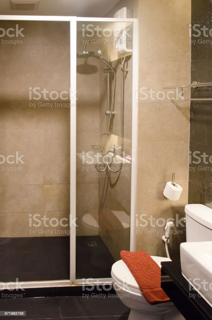 Interior Bathroom Shower Stock Photo Download Image Now Istock
