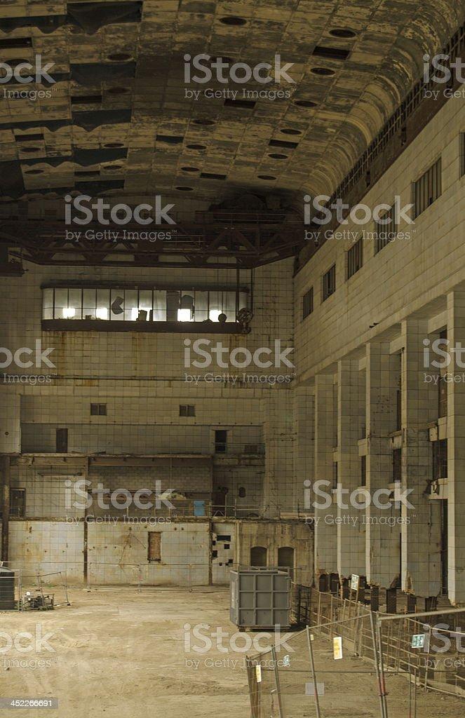 Interior, Battersea Power Station stock photo