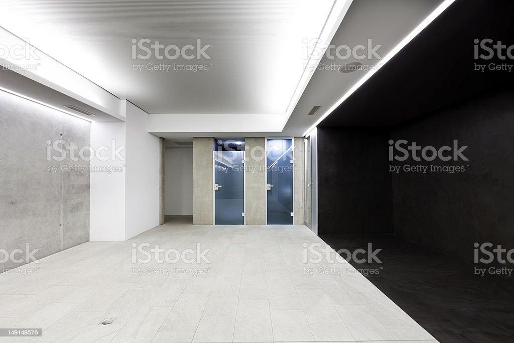 interior building, exit royalty-free stock photo