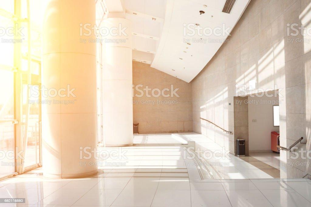 Interior building stock photo