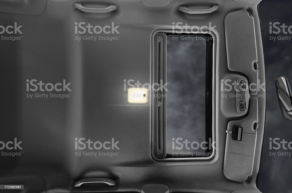 Interior Car Ceiling royalty-free stock photo