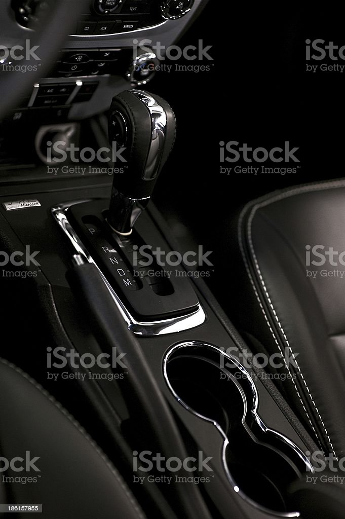 Interior Car Design stock photo