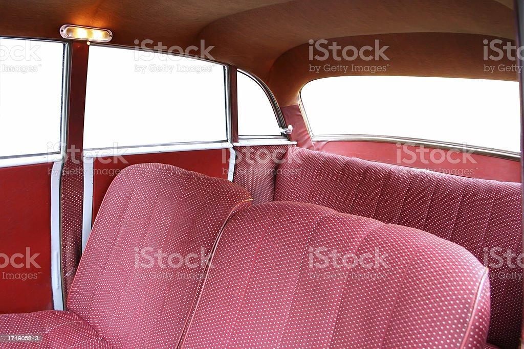 Interior Car royalty-free stock photo