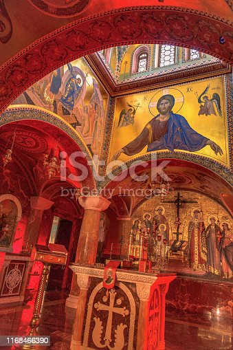 Interior, church of Savior on the Spilled Blood ,Yekaterinburg,Sverdlovsk Region,Ural,Russia ,Nikon D850