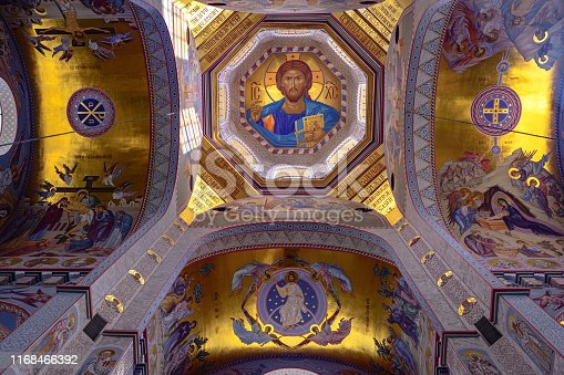 Interior, church of Savior on the Spilled Blood ,Yekaterinburg,Sverdlovsk Region,Ural,Russia ,Nikon D850