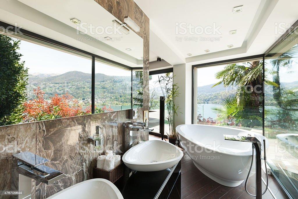 Komfortowe wnętrza, łazienka – zdjęcie
