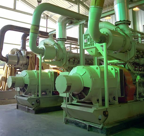 interior estación de compresor - compresor motor fotografías e imágenes de stock