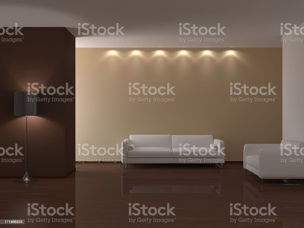 Interior concept apartment royalty-free stock photo