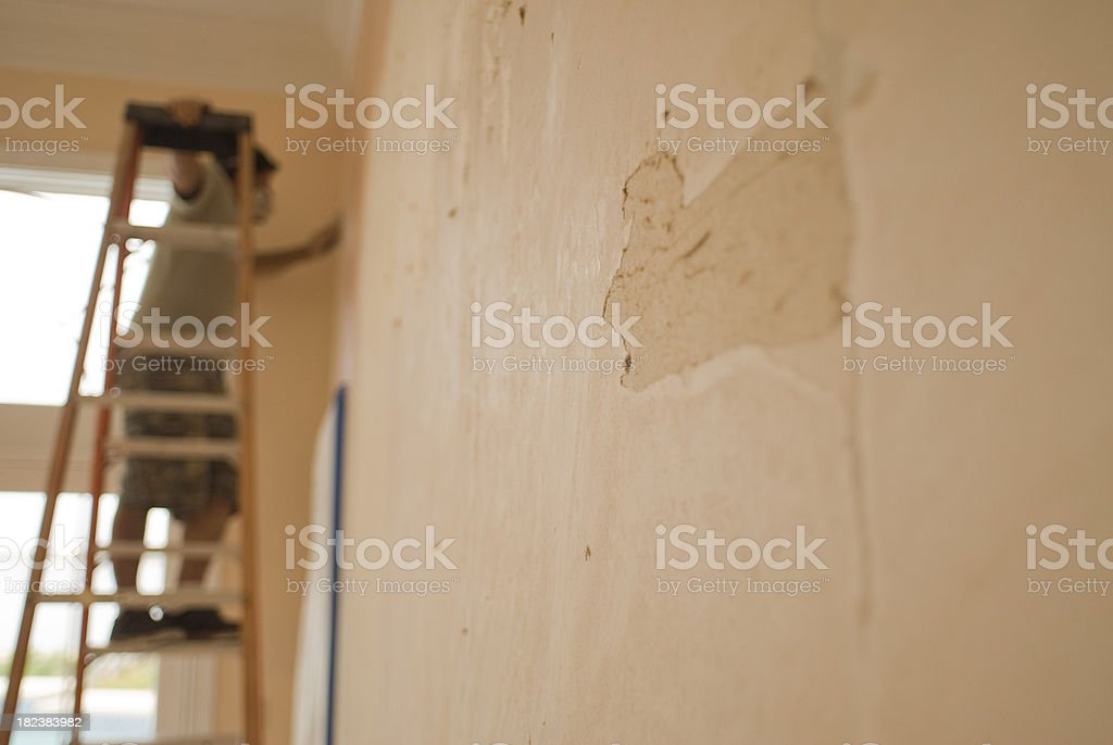 Interior Construction stock photo