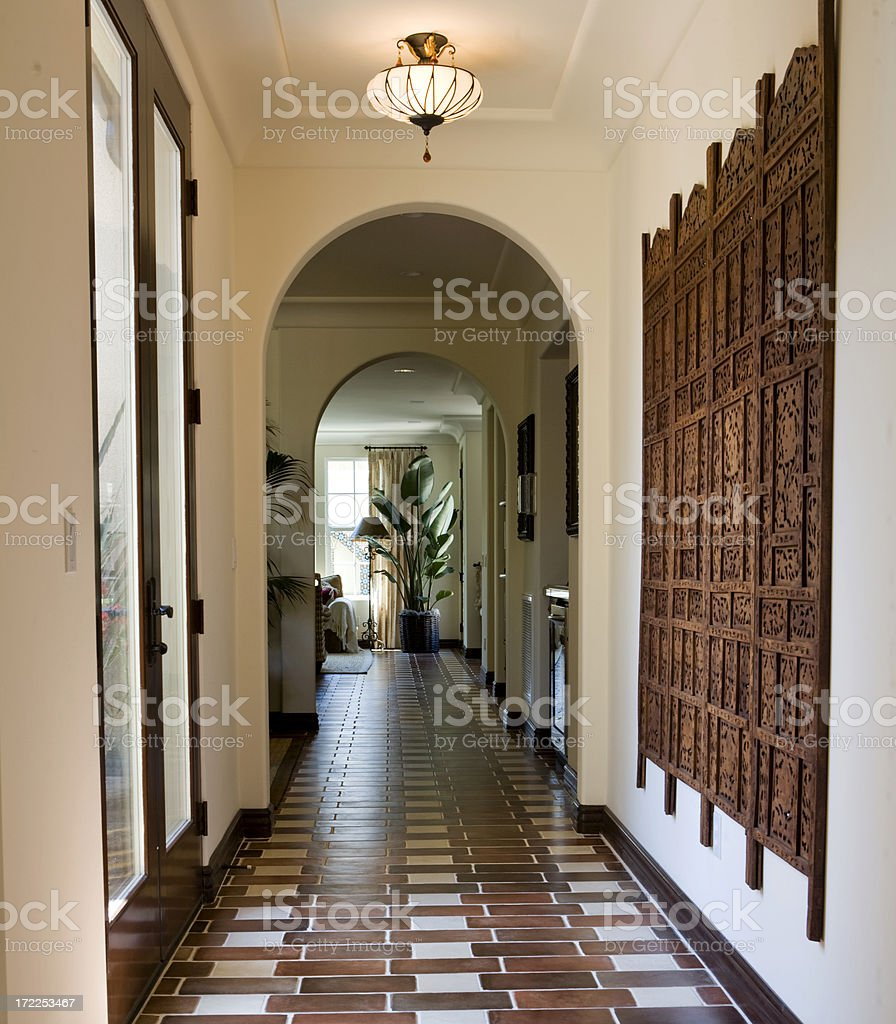 Interior Corridor royalty-free stock photo