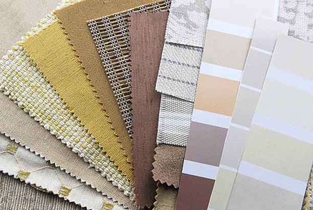 interior decoration repair upholstery planning stock photo
