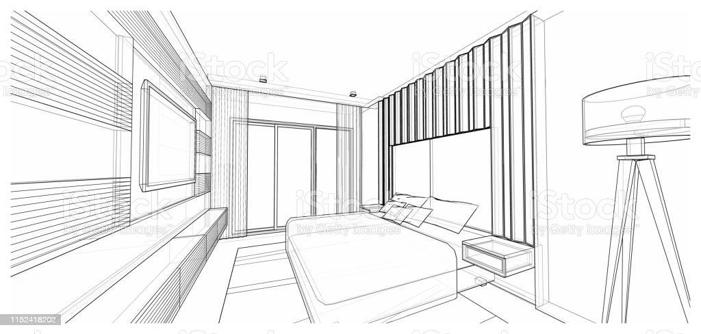 Interior Design Bedroom Stock Photo Download Image Now Istock