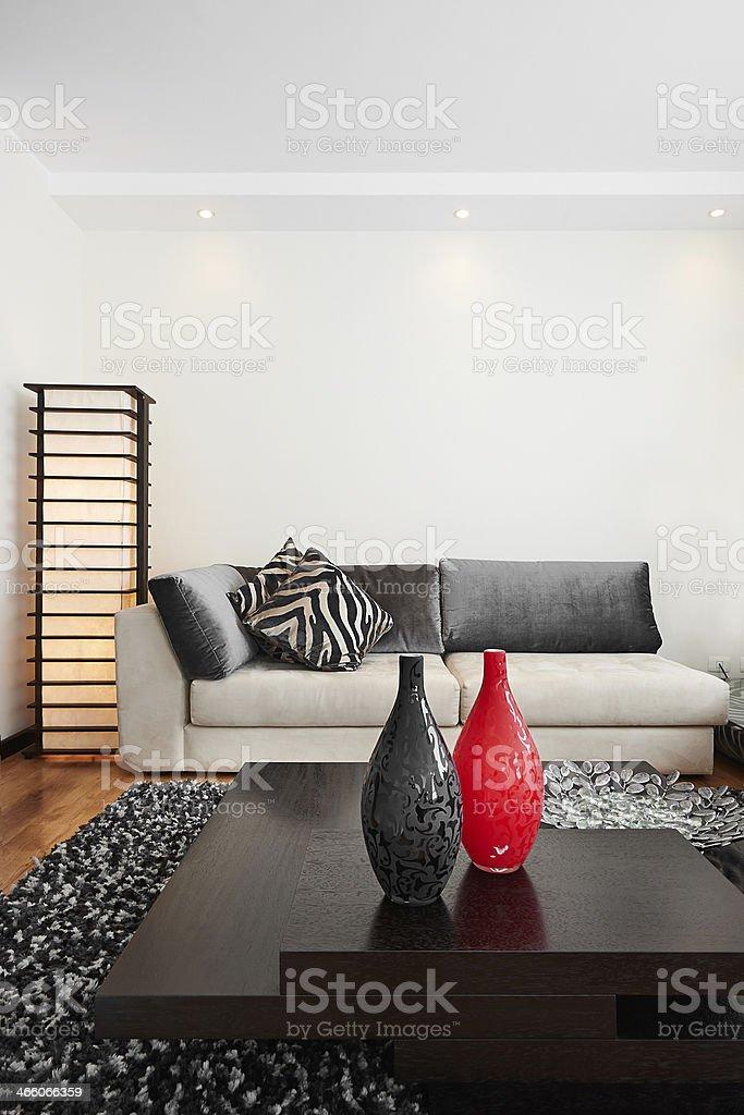 Interior Design Grosse Moderne Wohnzimmer Stockfoto Und Mehr Bilder