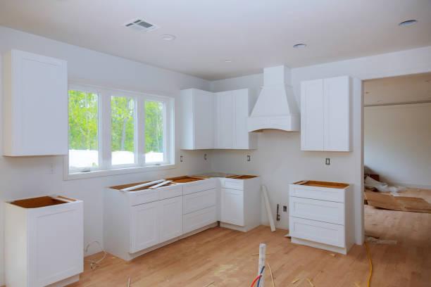 Interior design construction of a kitchen with cabinet maker custom picture id1159110859?b=1&k=6&m=1159110859&s=612x612&w=0&h=j13mddcwzsb1whwzjhaxaa6hch p6zidjo4ol4jkcxw=