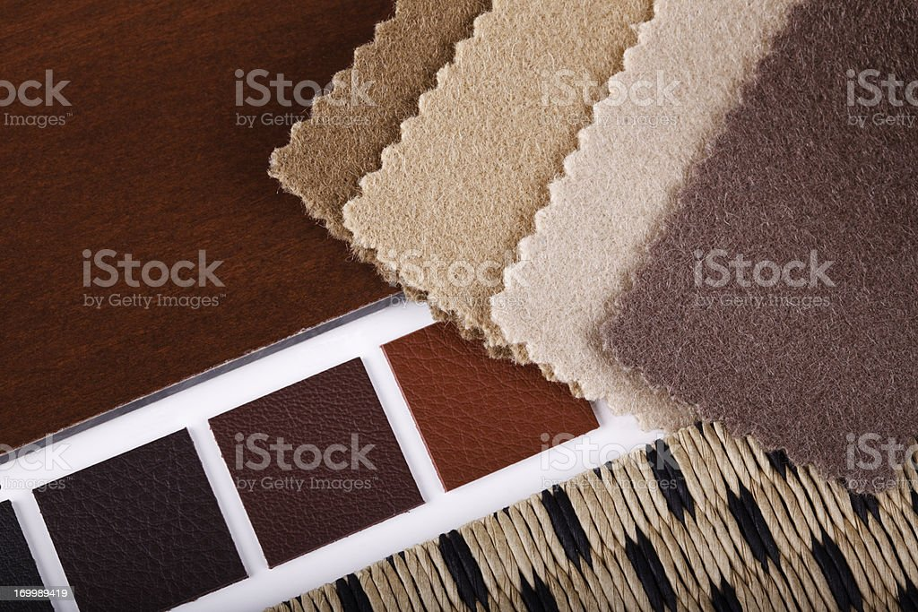 Interior Design Materialization royalty-free stock photo