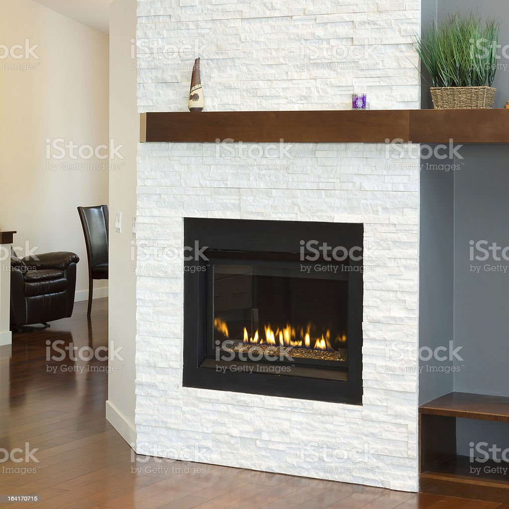 Interior design of modern Living room royalty-free stock photo