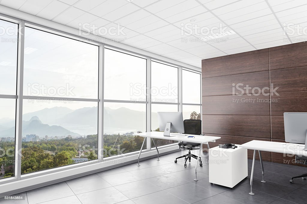 Interior Design Of Modern Office Room Stock Photo More Pictures Of