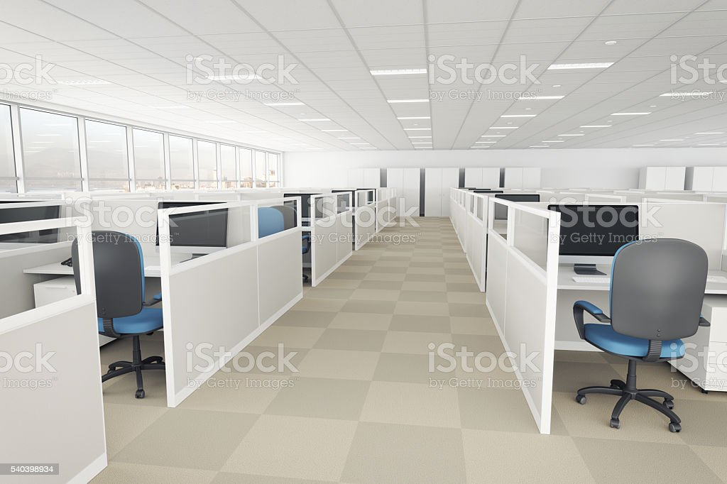 office with cubicles. Interior Design Of Modern Office With Cubicles Stock Photo \u0026 More Pictures  Of Architecture | IStock Office With Cubicles