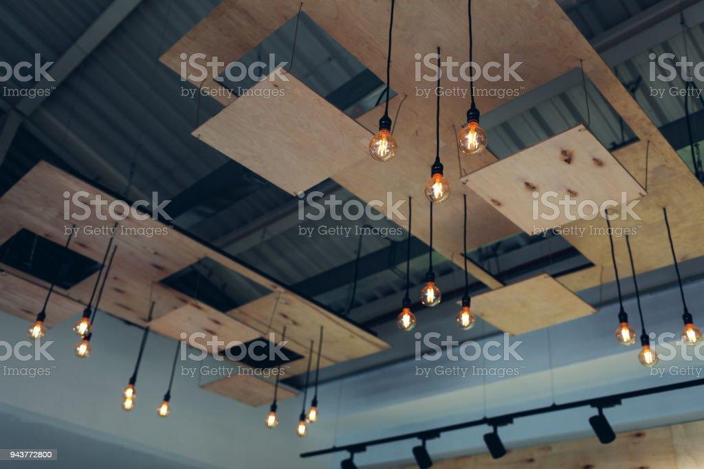 Diseño De Interiores De Techo Moderno Restaurante Diseño De Loft Vaporpunk Pop Art De Alta Tecnología Foto De Stock Y Más Banco De Imágenes De A La
